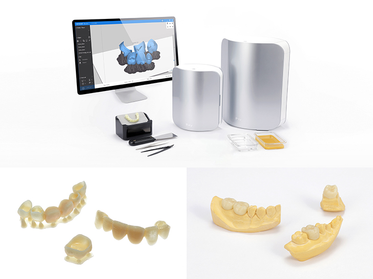 레이, 3D프린터 임시치아 레진 '의료기기 2등급'